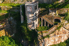Abandoned house buildings, Porto, Portugal. Royalty Free Stock Images