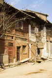 Abandoned house in city, China Royalty Free Stock Photo