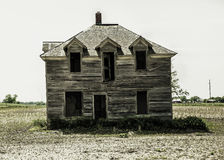 Abandoned house. In the country Royalty Free Stock Image