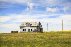 Abandoned house on the countryside Stock Image