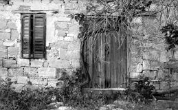 Abandoned house Cyprus Royalty Free Stock Photos