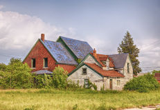Abandoned House In Detroit Stock Image