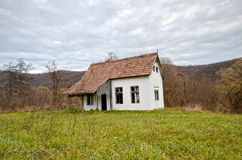 Abandoned house. A dilapidated old abandoned house Stock Photos