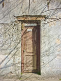 Abandoned House Door Royalty Free Stock Photos