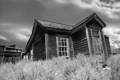 Old Abandoned House at Bodie Royalty Free Stock Photos