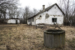 Abandoned house - Home Improvement Needed Royalty Free Stock Photo