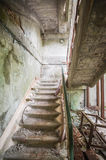 Abandoned House Interior In Chernobyl Resettlement Zone Royalty Free Stock Photo