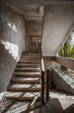 Abandoned House Interior In Chernobyl zone Royalty Free Stock Image
