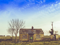 An abandoned house in Ireland. Abandoned house in in Ireland Royalty Free Stock Images