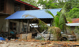 Abandoned house. House in Malaysia Stock Image