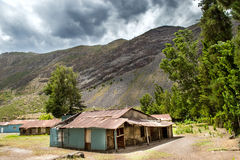 Abandoned House. Near the mountains Royalty Free Stock Photography