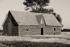 Abandoned House On The Prairie Royalty Free Stock Photos