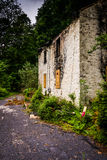 Abandoned house in Reading, Pennsylvania. Royalty Free Stock Photography