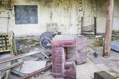 Abandoned house ruins Royalty Free Stock Images