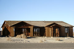 Abandoned house in Salton City Royalty Free Stock Image
