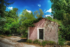 Abandoned house in Sardinia Stock Photography