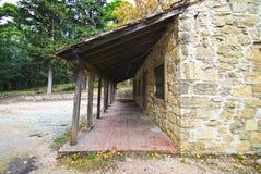Abandoned house of Tatoi Palace stock photos