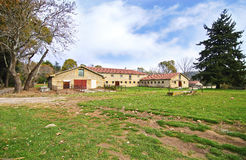 Abandoned house of Tatoi Palace stock image