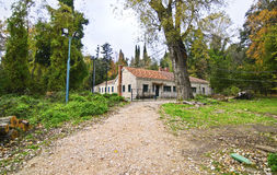 Abandoned house of Tatoi Palace. The place where stayed the former greek Royal family Royalty Free Stock Images