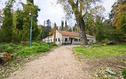 Abandoned house of Tatoi Palace Royalty Free Stock Images
