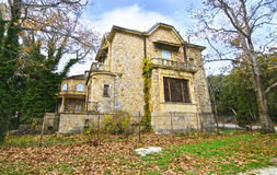 Abandoned house of Tatoi Palace. The place where stayed the former greek Royal family Royalty Free Stock Photography