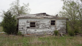 Abandoned House in Texas Stock Photography