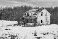 Abandoned house Royalty Free Stock Photo