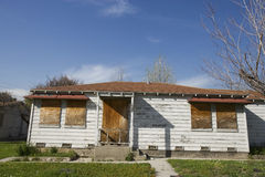 Free Abandoned House With Boarded Up Windows Stock Photography - 29661082