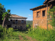 Abandoned houses Royalty Free Stock Photos