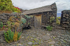 Abandoned Houses In El Hierro Island Royalty Free Stock Images