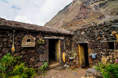 Abandoned Houses In El Hierro Island Stock Photos