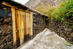 Abandoned Houses In El Hierro Island Royalty Free Stock Image