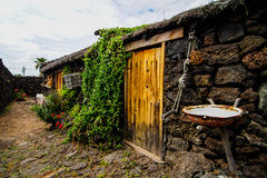 Abandoned Houses In El Hierro Island Stock Photography