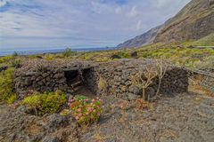 Abandoned Houses In El Hierro Island Stock Image