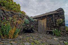 Abandoned Houses In El Hierro Island Royalty Free Stock Photography