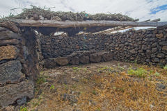 Abandoned Houses In El Hierro Island Royalty Free Stock Photos