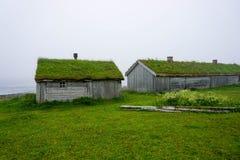 Abandoned houses Stock Photography