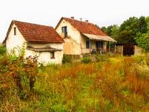 Abandoned houses Stock Image