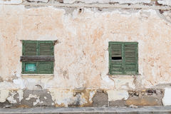 Abandoned houses royalty free stock images