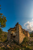 Abandoned houses in village Dyadovtsi, Bulgaria Stock Images