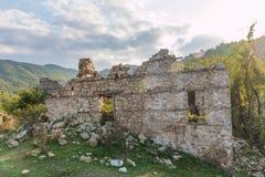 Abandoned houses in village Dyadovtsi, Bulgaria Royalty Free Stock Photo