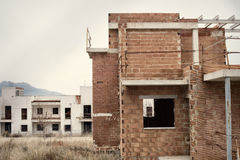 Abandoned housing project Royalty Free Stock Photography