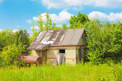Abandoned hut Royalty Free Stock Photos