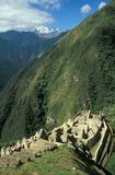 Abandoned Inca Village Stock Photography