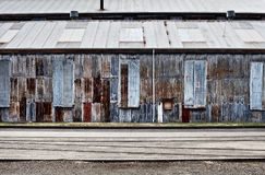 Abandoned Industrial Buildings Stock Photos