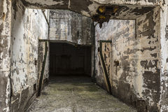 Abandoned industrial facilities of a mine Royalty Free Stock Images