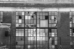 Abandoned Industrial Factory - Urban Desolation, Worn, Broken and Forgotten IV Stock Images
