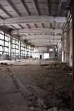 Abandoned Industrial interior Royalty Free Stock Photo