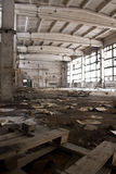 Abandoned Industrial interior Stock Photos