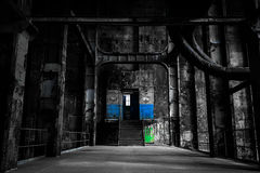 Free Abandoned Industrial Interior Royalty Free Stock Photos - 34648298